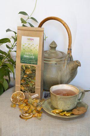 """<span class=""""HERBA Gyógynövény Manufaktúra"""" title=""""Kézműves teakeverékeket készítek saját termesztésű és gyűjtésű gyógynövényekből, amelyek nem csak egészségesek, hanem finomak, illatosak és szépek is."""">HERBA Gyógynövény Manufaktúra</span>"""